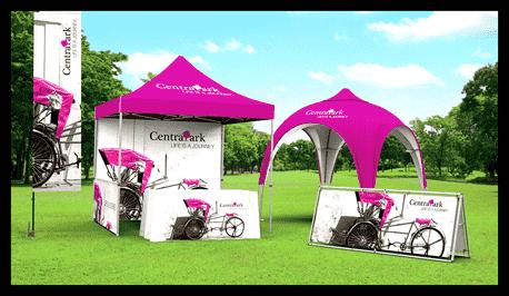 Outdoor Marketing Displays